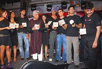 Prachi Desai - Desai with Rock On!! team at music launch
