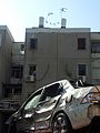 Rocket hitting car Beer Sheva 2012 03.jpg