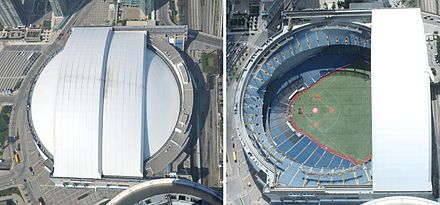 Left: Rogers Centre with roof closed Right: Rogers Centre with roof opened Rogers Centre open and closed.jpg