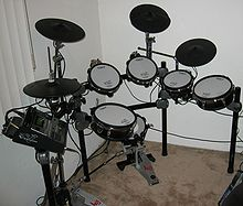 Bater a instrumento musical wikipedia la enciclopedia for Yamaha electronic drum kit for sale