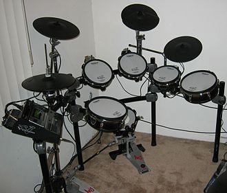 Roland V-Drums - Expanded Roland TD-12S V-Stage set