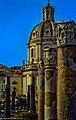 Rom, Forum Traiani (Foro mercati Traianei) und Basilica Ulpia (14823724550).jpg