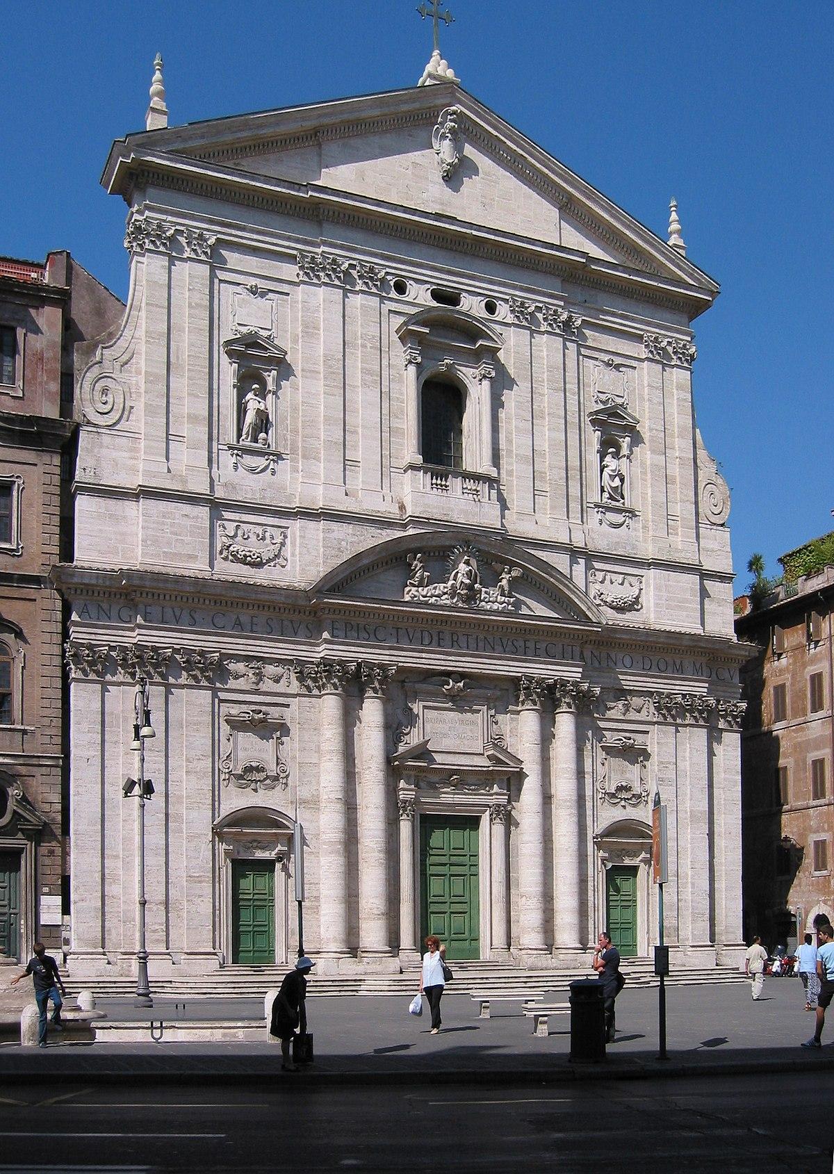 Santa maria in vallicella wikipedia for Corner via del corso roma