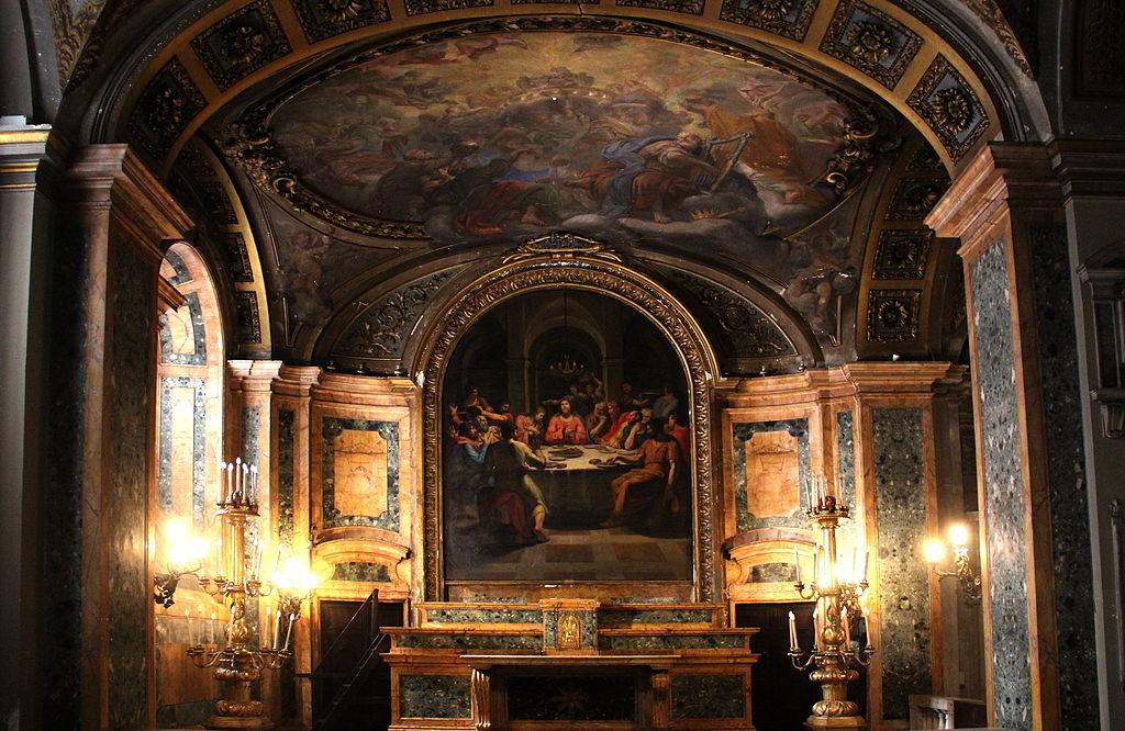 Rome, Chiesa di San Lorenzo in Damaso 004.JPG