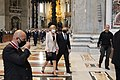 Rome Andrzej Duda Vatican City visit Saint Peter's Basilica 2020 P02.jpg