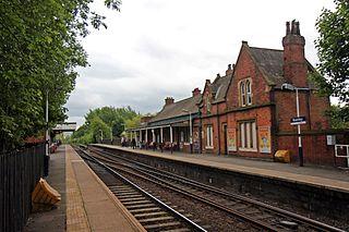 Romiley railway station