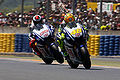 Rossi and Lorenzo 2010 French GP.jpg