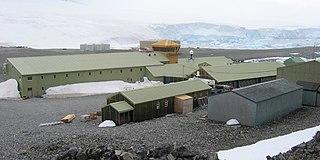 Antarctic base in British Antarctic Territory, United Kingdom