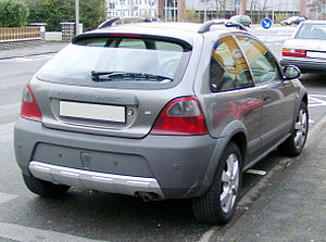 Rover Streetwise - Rover Streetwise, rear view