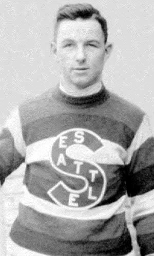 Roy Rickey - Roy Rickey with the Seattle Metropolitans in the 1916–17 season.