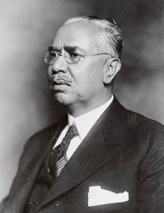 Mexican Repatriation - Pascual Ortiz Rubio, president of Mexico at the peak of the repatriation (1931)