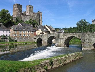 County of Wied - Image: Runkel Lahn