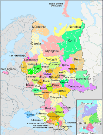 Mapa Politico De Rusia Actual.Rusia Europea Wikipedia La Enciclopedia Libre