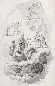 Рисунок бой руслана с головой отрывок из поэмы руслан и людмила читать - a5