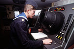 Russian sailor monitors a navigational radar screen.JPEG