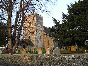 Rustington - Image: Rustington Church 3
