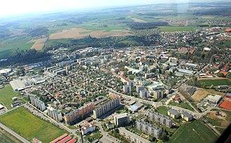 Rychnov nad Kněžnou - Aerial view