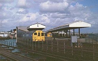 Railways on the Isle of Wight - Image: Rydephstn