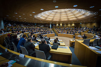 Inaugural session of the new Regional council on 4 January 2016 Seance pleniere inaugurale conseil region ACAL 4 janvier 2016.jpg
