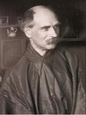 Siegfried Bing - Siegfried Bing, wearing a hanfu