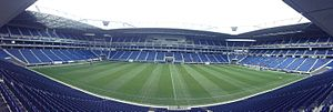 Gamba Osaka - A panoramic view of Suita City Football Stadium