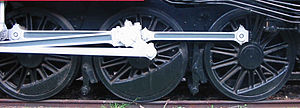 Victorian Railways J class - J class 'SCOA-P' pattern driving wheel centres