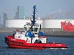 SD STINGRAY, IMO 9448176 in the Mississippi harbor, Port of Rotterdam, pic2.JPG