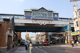 56th Street station - Image: SEPTA56nd Street Station Exterior 2007