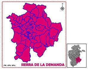 Sierra de la Demanda (comarca) - Image: SIERRA DE LA DEMANDA