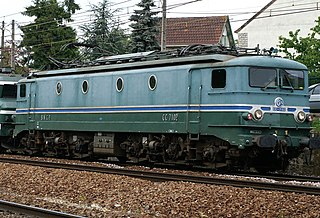 SNCF Class CC 7100 class of 58 French electric locomotives