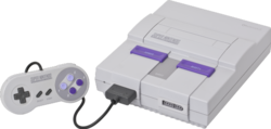 A United States SNES.