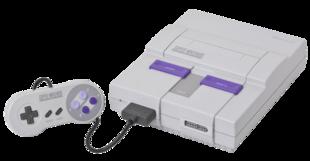 Versione per il Nord America del Super Nintendo