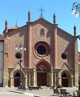 Secundus of Asti - Collegiate church of San Secondo in Asti.