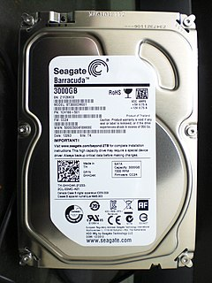 ST3000DM001 3TB hard disk drive by Seagate