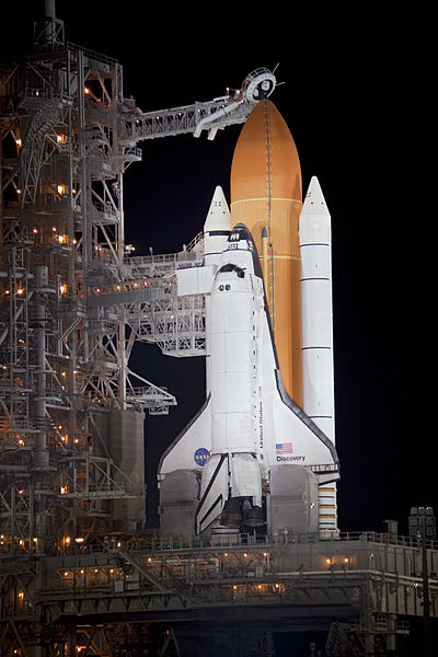 File:STS-133 (Discovery) on Launch Complex 39A.jpg
