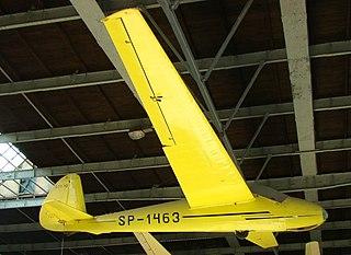 SZD-12 Mucha 100 glider aircraft
