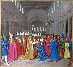 Charlemagne crowned in Rome.