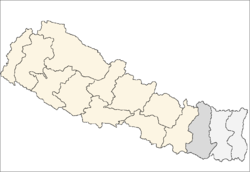 Sagarmatha zone location.png