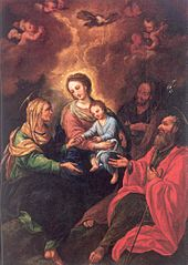 Holy Family with St. Joachim and St. Anne
