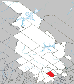 Location within Matawinie RCM