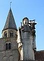 Saint-Denis-de-Jouhet Monument-aux-morts et clocher 1a.jpg