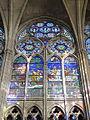 Saint-Denis (93), basilique Saint-Denis, chœur, fenêtre haute côté nord.JPG