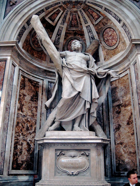 Saint Andrewby Francois Duquesnoy