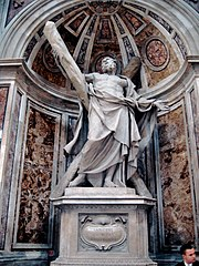 The shrine to Saint Andrew in St. Peter's Basilica, Rome.