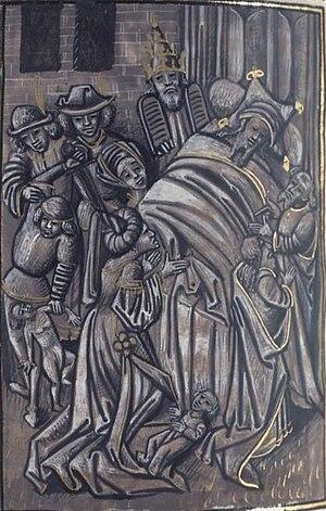 Saint Sylvestre, au chevet de Constantin.jpg