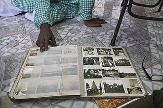 Photo album - A photo album owned by Indian travel writer Saktipada Bhattacharyya.