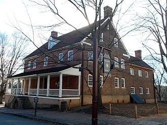 Salem Tavern - 1784 Salem Tavern, January 2015