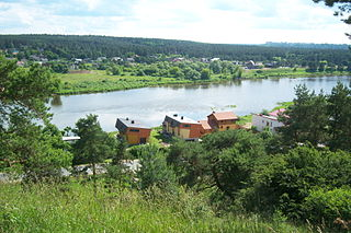 The river Neris from Lentainiai hillfort. Photo:Vilensija