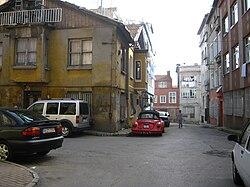 Samatya'daki bir sokak