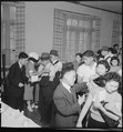 San Francisco, California. As a safeguard for health, evacuees of Japanese descent were inoculated . . . - NARA - 536393.tif